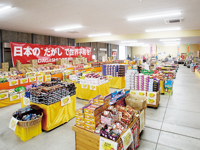Japan's largest dagashi shop(NIPPON ICHI NO DAGASHI URIBA)